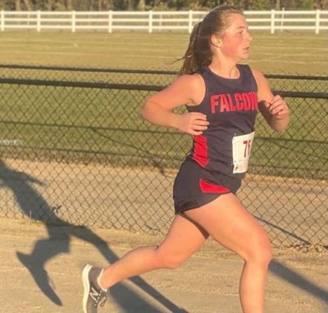 Senior Emily Vroom finishing strong