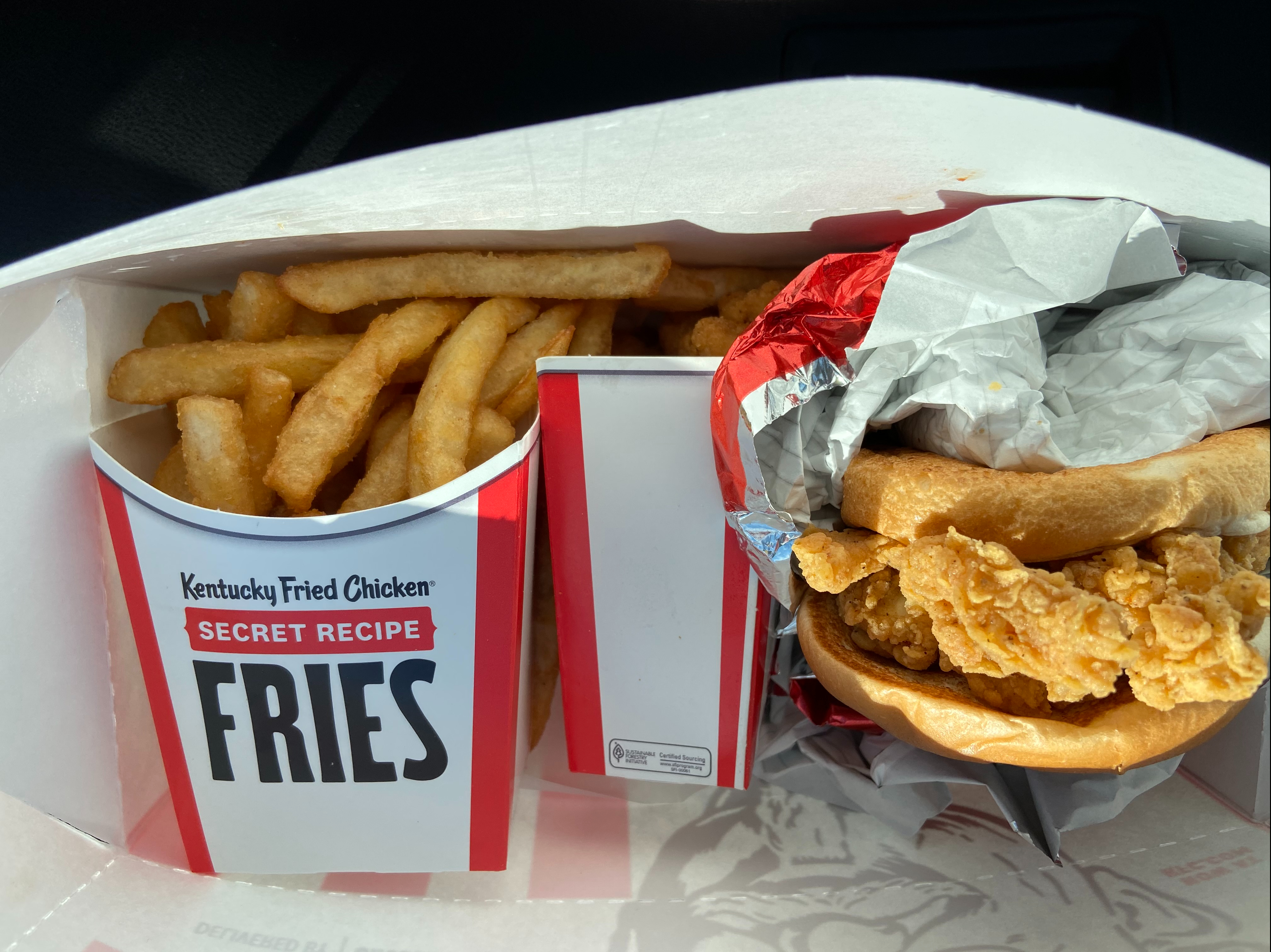 KFC vs McDonald chicken sandwiches