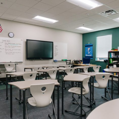 Classroom at the NCLA