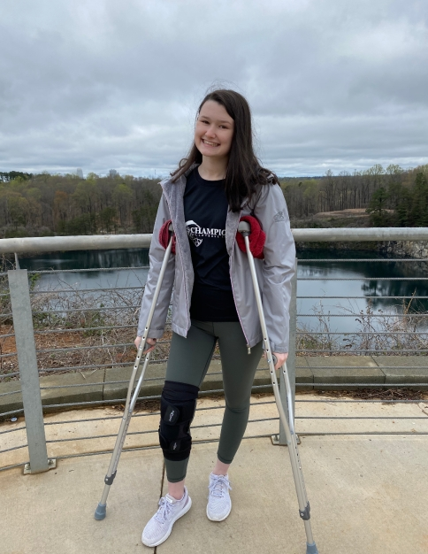 No more home workouts for Megan due to her injury