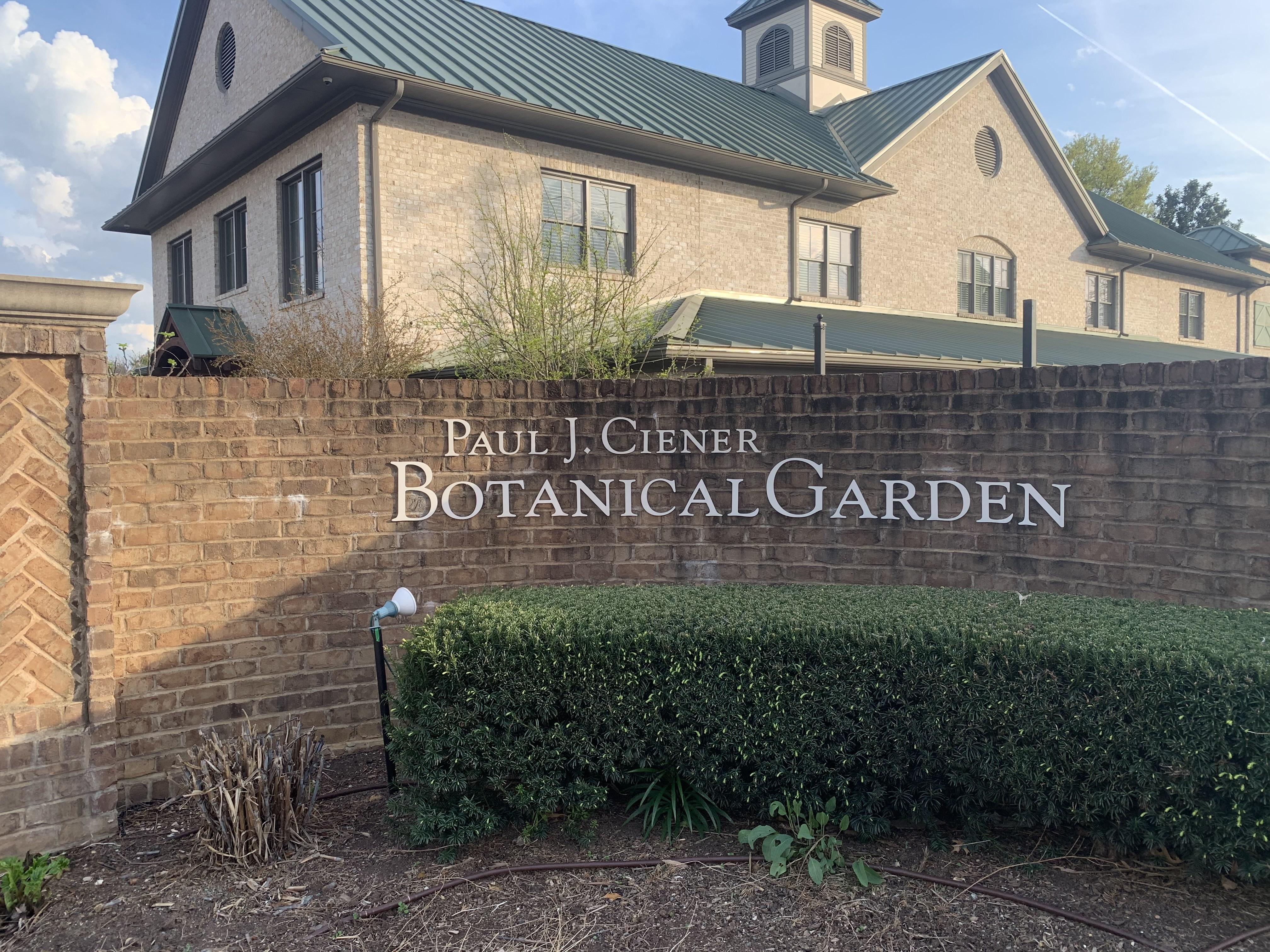 Local spring destinations, Botanical gardens