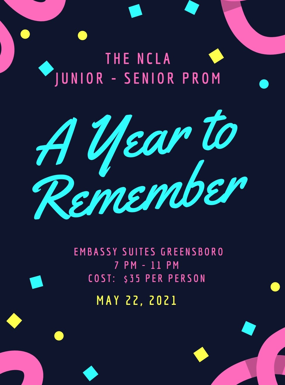 Prom for Juniors and Seniors