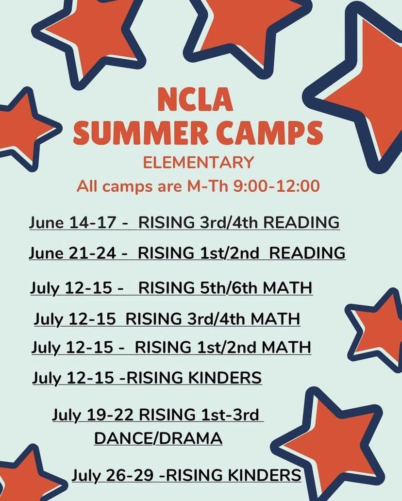 NCLA Summer Camp